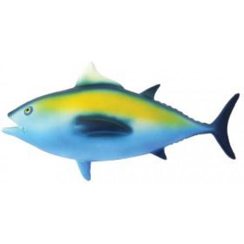 Jolly doggy latex tuna fish dog toy 10 for Fish dog toy